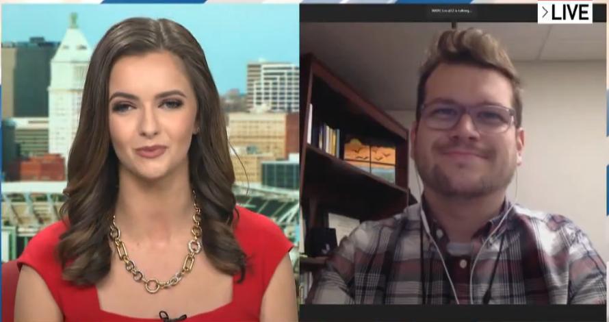 Good Morning Cincinnati on Star 64 features problem gambling disorder expert Blake Huelsman